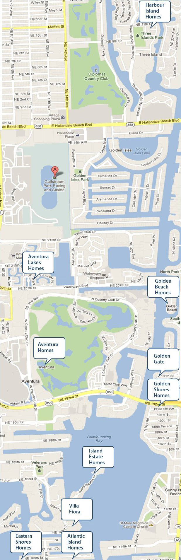North Miami Waterfront Homes For Sale